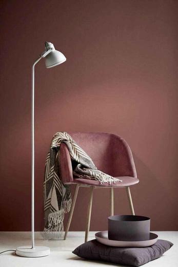 Aslak White Finish Adjustable Floor Lamp
