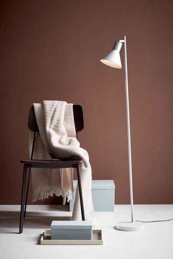 Eik White Adjustable Reading Light Floor Lamp