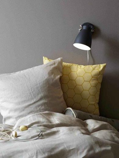 Largo Black Indoor Adjustable Wall Light