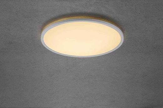 Oja 42 LED IP20 2700K 3-step Dim White Ceiling Light