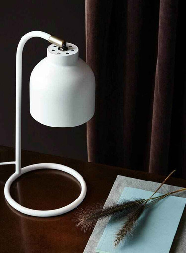 Julian Matt White Task Table Lamp