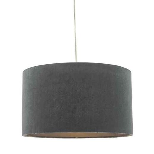 Akavia Grey Easy Fit Shade Pendant Light