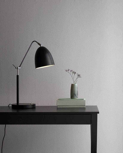 Alexander Black Adjustable with Switch Table Lamp