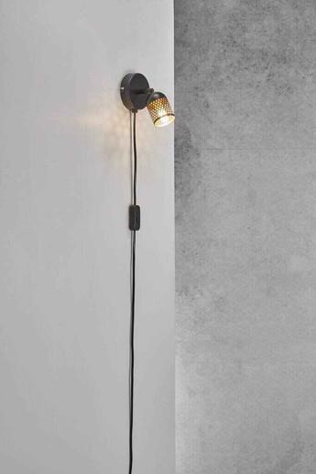 Alfred Black Indoor Wall Light