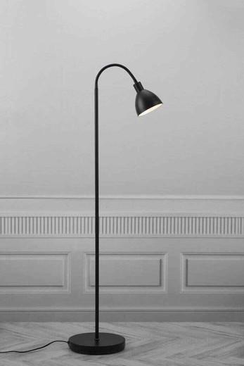 Ray Single Headed Black Floor Lamp