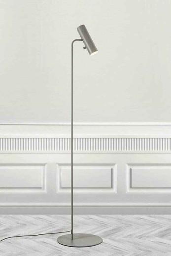 MIB 6 Adjustable Grey Metal Floor Lamp