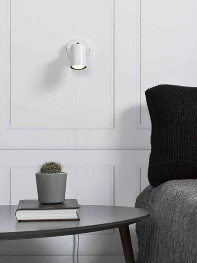 Explore LED White Adjustable Wall Light