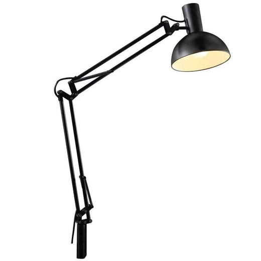 Arki Adjustable Desk Light Black Task Table Lamp