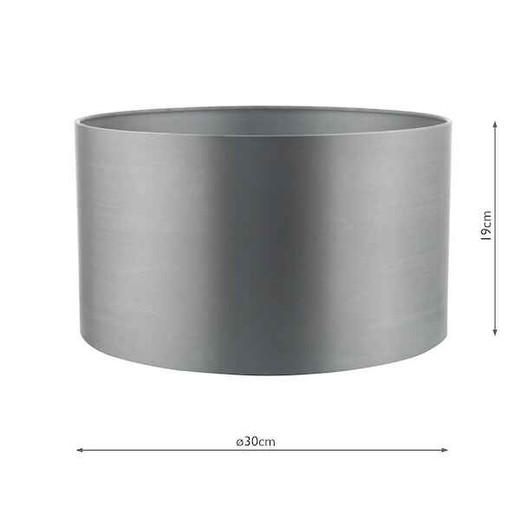 Hilda 30cm Grey Light Shade Only