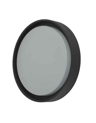 Ralph Large Anthracite IP65 LED Round Outdoor Wall Light