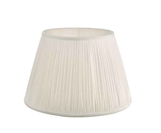 Ulyana 40cm Ivory Pleated Shade Only