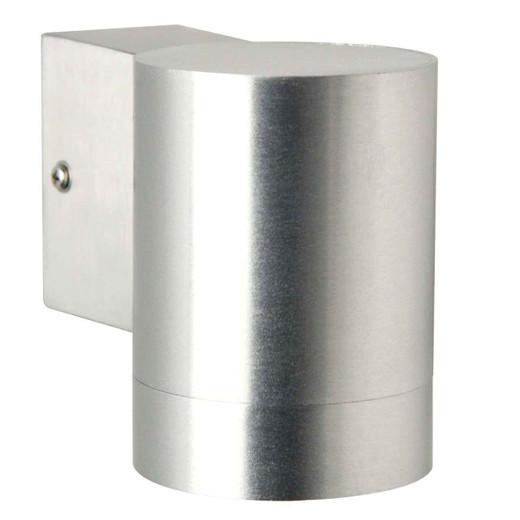 Tin Maxi Aluminiumwith Clear Glass Wall Light
