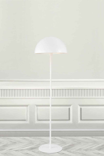 Ellen White with Shade Floor Lamp
