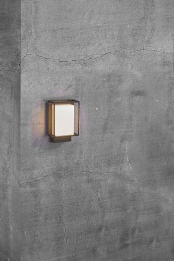 Nestor LED IP44 Black Wall Light