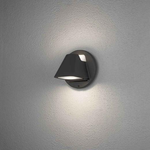 Hild Black Modern IP44 LED Outdoor Wall Light