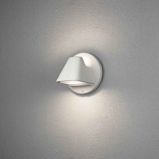 Hild White Modern Up and Down Outdoor IP44 Wall Light