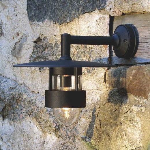 Freja Matt Black Aluminium Wall Light
