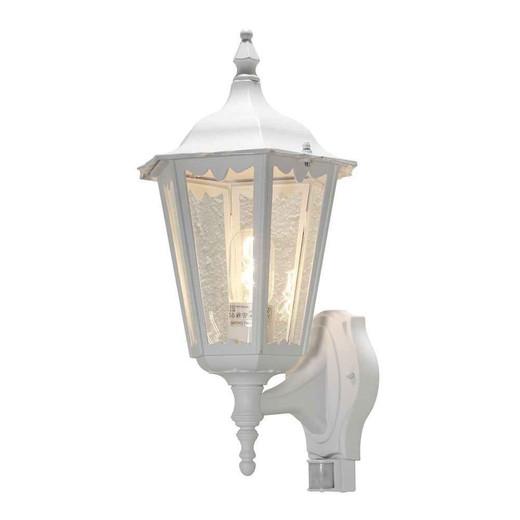 Firenze Up PIR Matt White Aluminium Wall Light
