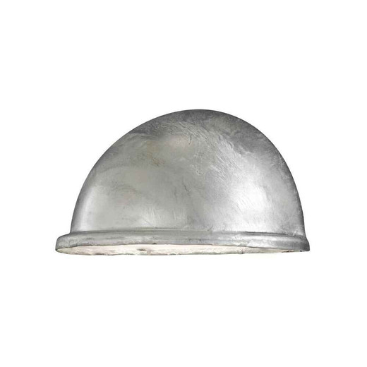 Torino Galvanized Steel with Clear Glass Wall Light