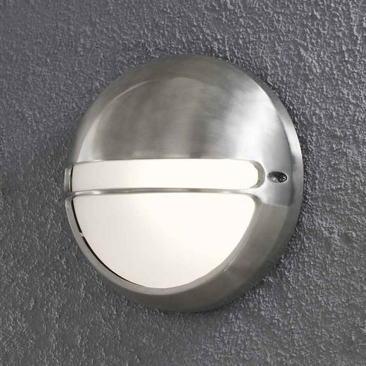 Torino Stainless Aluminium Flush Wall Light