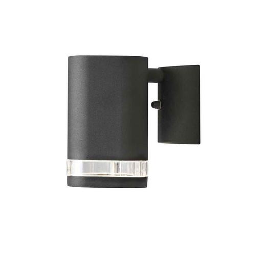 Modena Black Aluminium Single Wall Light