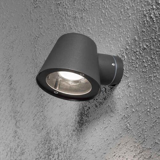 Trieste Anthracite Aluminium Wall Light