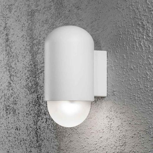 Sassari White Aluminium High Power LED Wall Light