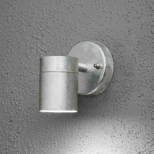 Modena Down Galvanised Steel Wall Light