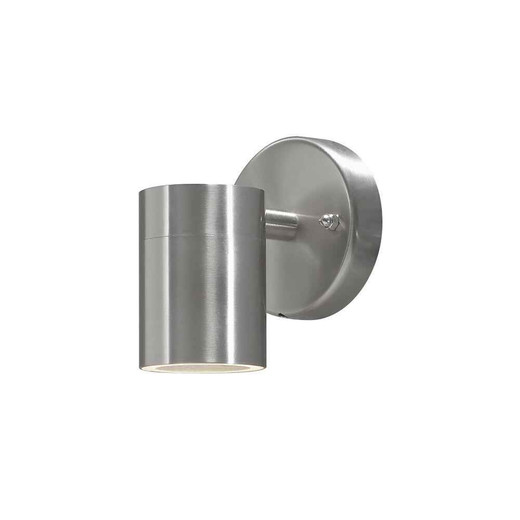 Modena Down Stainless Steel with Frosted Glass Wall Light
