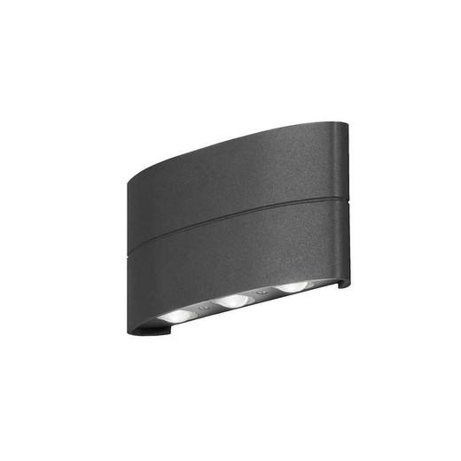 Chieri Anthracite Grey Aluminium Adjustable LED Wall Light