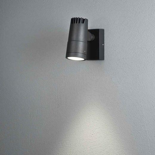 Andria Anthracite Grey Aluminium LED Wall Light