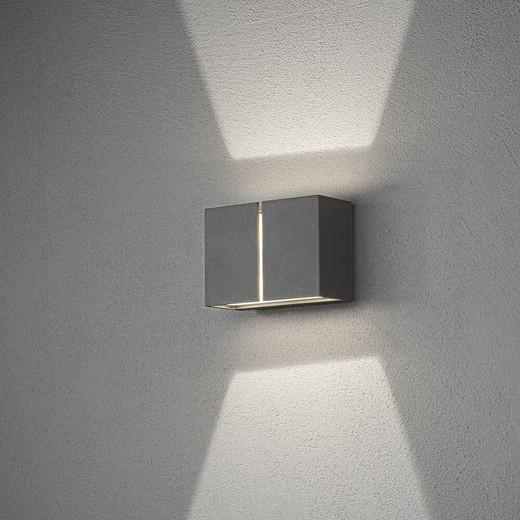 Pavia Dark Grey Aluminium LED Wall Light