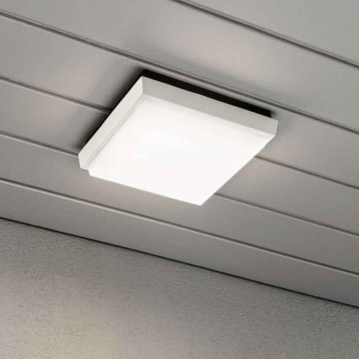 Cesena White Square Aluminium LED Wall Light
