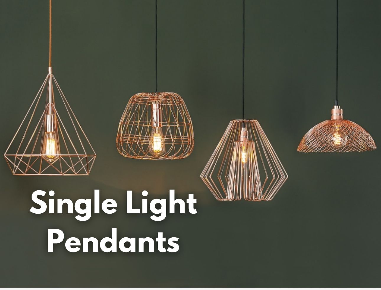 Single Light Pendants