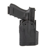Spyros Multifit Holster front with weapon holstered