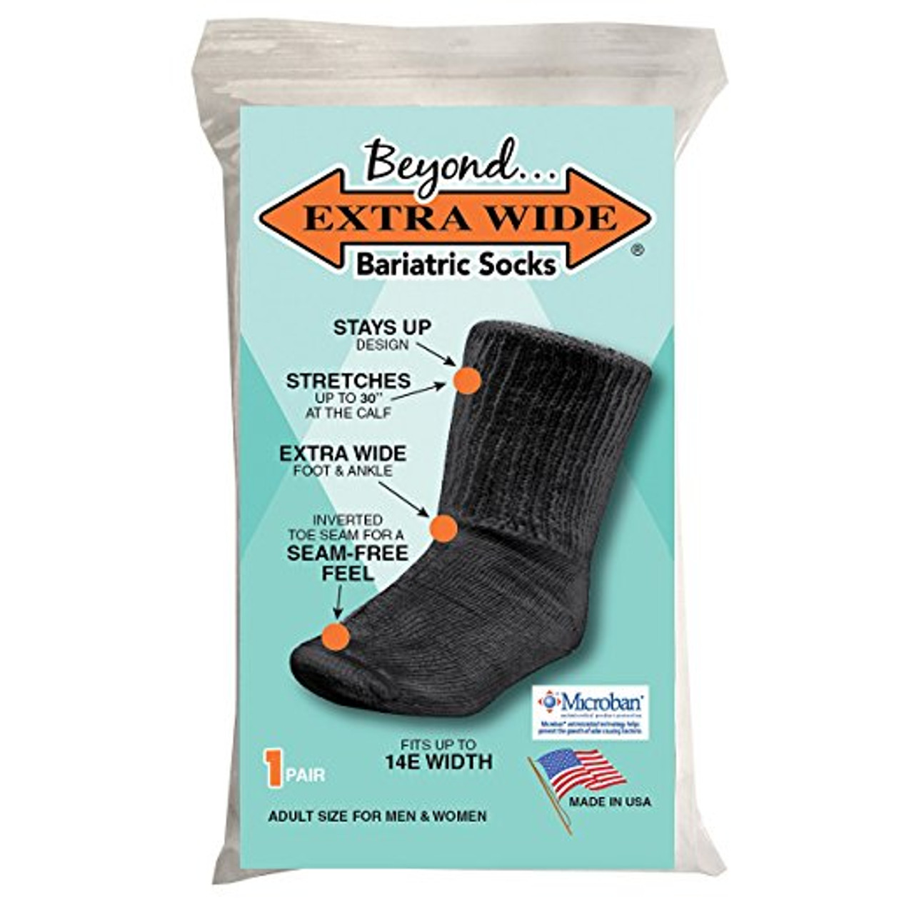 Beyond Extra Wide Bariatric Socks for Extreme Lymphedema