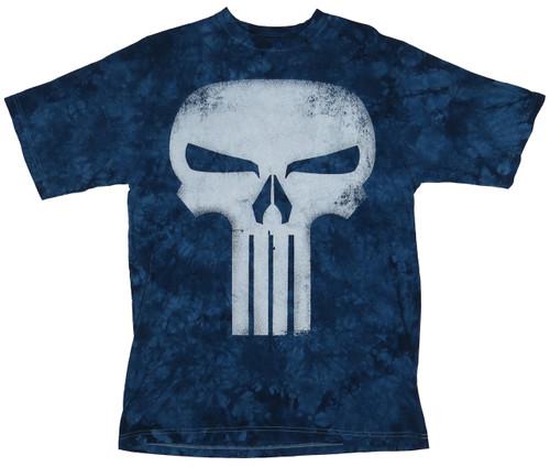 Marvel Tie Dye The Punisher Tee XL, 2X, 3X