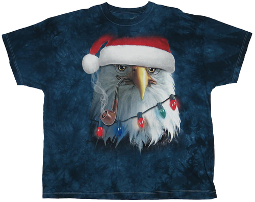 The Mountain Tie Dye Santa Eagle 3X, 4X, 5X