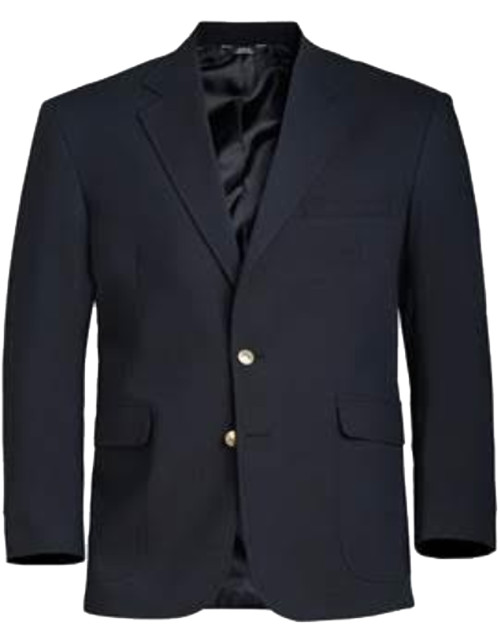 Navy 2 Button, Single Breasted