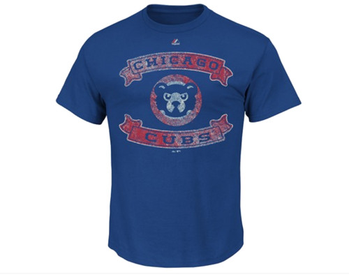 Cubs Distressed Banner