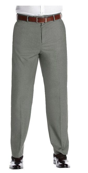 Savane Gabardine Flat Front Dress Pants