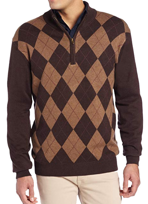 Brown Argyle (front)