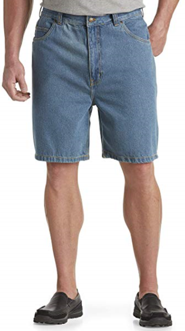 Shorts are Darker Blue
