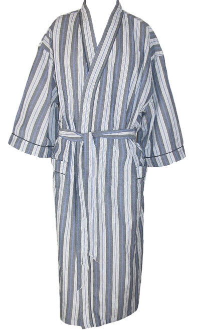 Black Stripe Robe