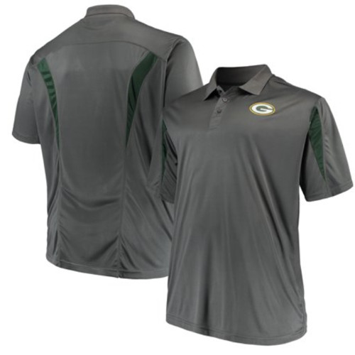 Majestic Green Bay Packers Contract Polo 2XT, 4X, 5X