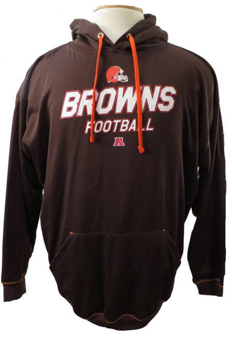 Cleveland Browns TX3 Warm Pullover Hoodie 3X