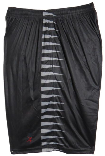 Black with Horizontal Stripe