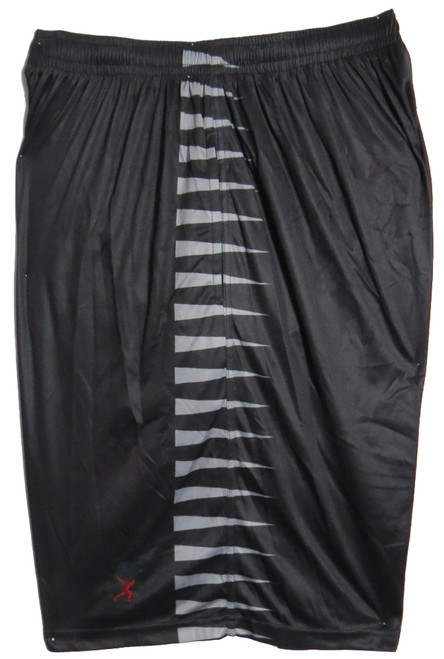 Black with Horizontal Stripe