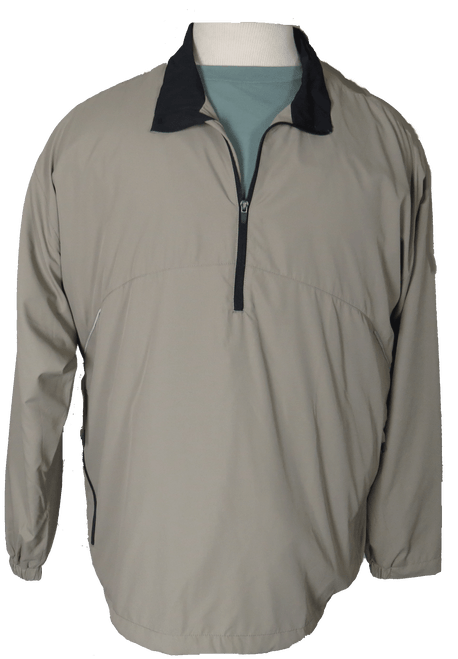 River's End 1/2 Zip Sand Windbreaker 5X