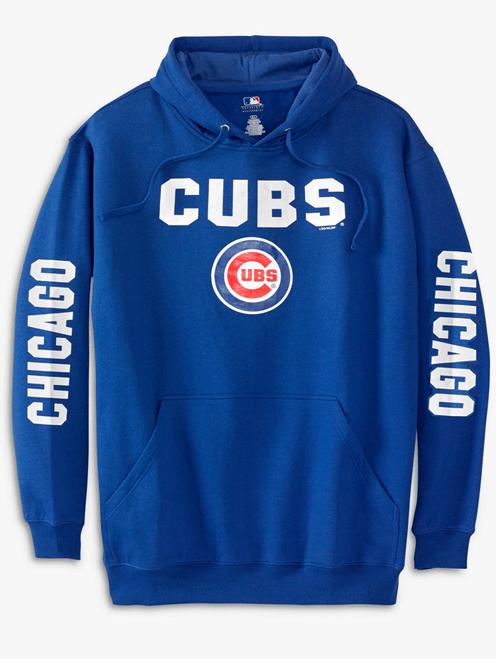 MLB Chicago Cubs MLB Fleece Hoodie 2X, 3X